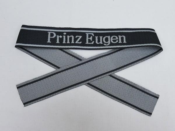 Wehrmacht Elite BEVO Sleeve Band Waffen SS Division PRINZ EUGEN Sleeve Stripes