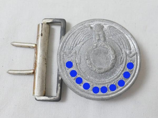 Leader's belt buckle Field binding buckle Belt buckle for leaders Waffen SS