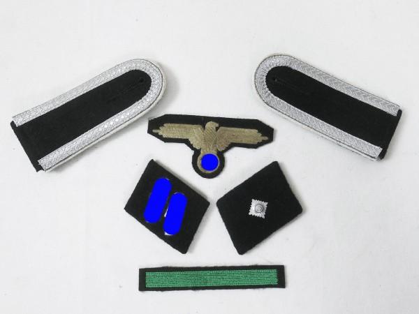 Set Effects Badges Weapons Elite Shoulderboards Sleeve Eagle Collar tabs for Unterscharführer