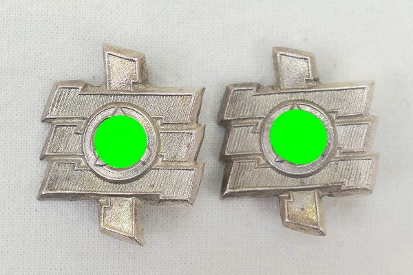 Wehrmacht SA Shoulder Pads / 1x pair of pads for epaulettes