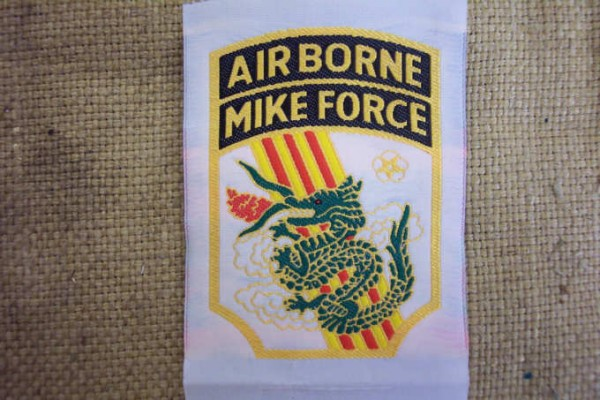 Badge woven for South Vietnamese units special forces