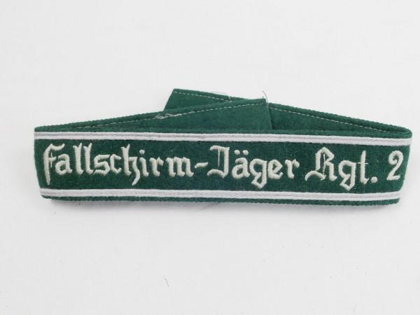 Wehrmacht cuff Paratrooper-Rgt. 1 cuff Paratrooper Teams