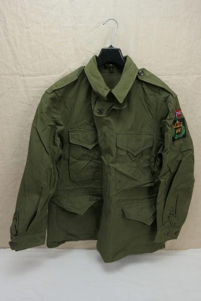 NORWAY TYPE US ARMY WW2 Field Jacket M-1943 Field Jacket M43 Size 48/50 Medium #2