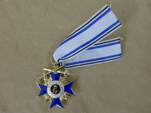 Bavarian Military - Order of Merit 3rd Class with Swords Merenti 1866