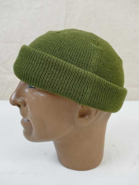 US ARMY WW2 A4 Mechanic wool cap Mechanic knitted cap olive cap Jeep Medium
