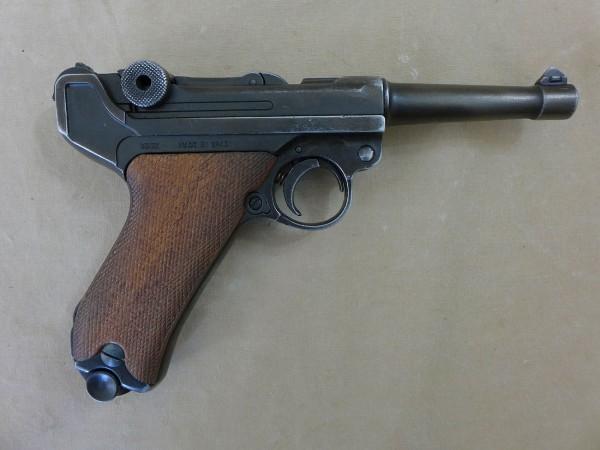 WW2 Wehrmacht pistol P08 Mauser leather holster suitcase pistol case 1936