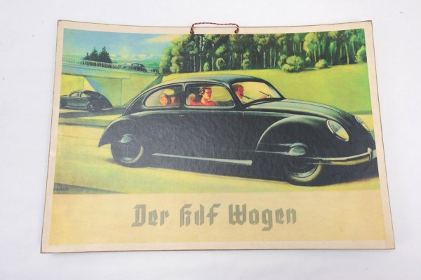 Wehrmacht Vintage Sign Poster Board - The KDF Wagon