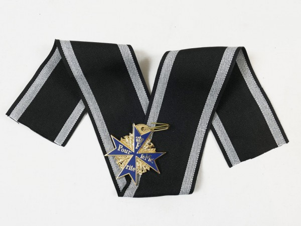 Order Pour le Mérite on ribbon / Blue Max