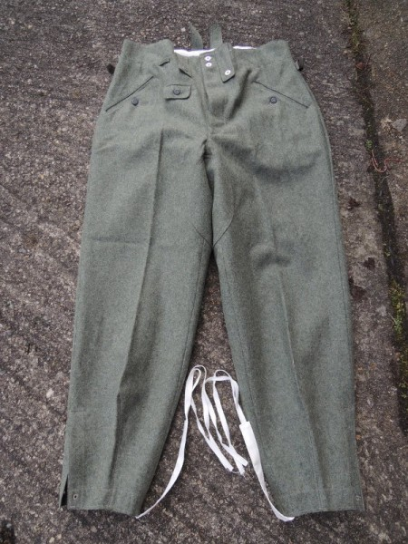 Wehrmacht M43 wedge trousers field trousers uniform trousers