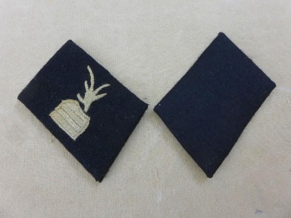 "Collar mirror 21. Albanian volunteers SS weapons mountain division "" Skanderbeg"""