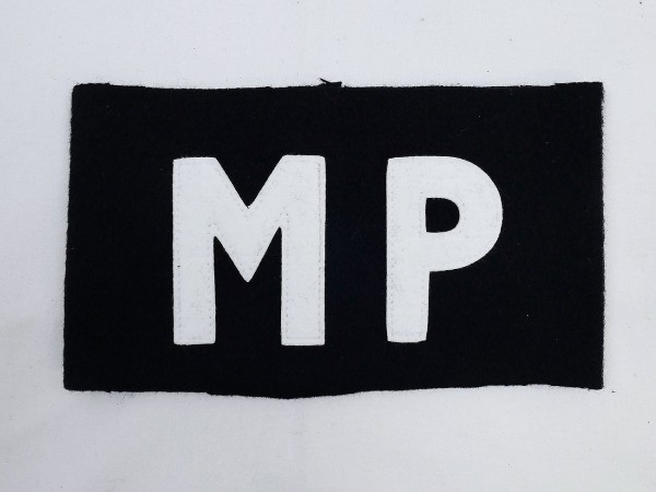 US Army MP Armband Military Police military police
