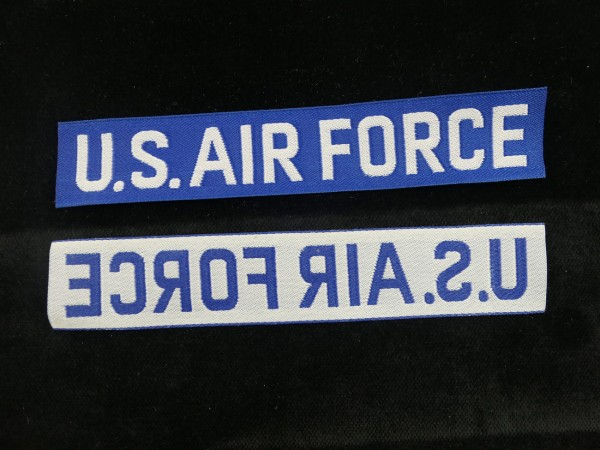 US Air Force USAF Badge Patch woven