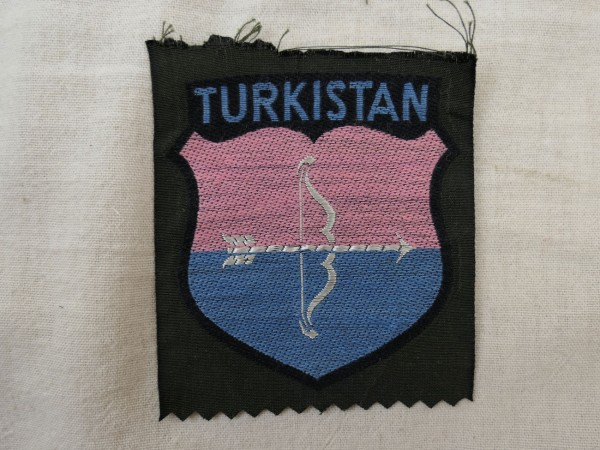 Sleeve Badge Uniform Sleeve Shield Volunteer Elite Kazakhstan Turkistan