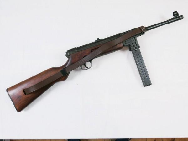 MP41 Schmeisser MP 41 submachine gun Deco model antique film gun Denix + carrying strap
