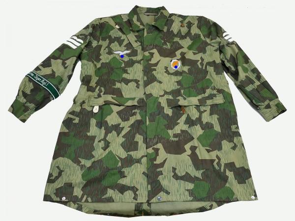 WK2 LW Luftwaffe bone bag paratrooper regiment 1 splinter camouflage size 3 effektiert