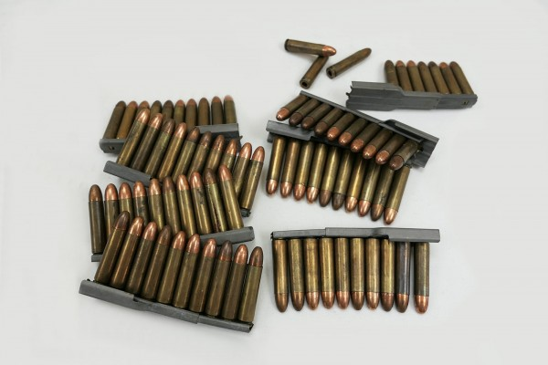 US M1 Carbine clips with 10x rounds deco ammo