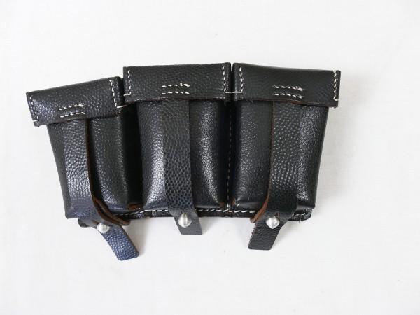 Wehrmacht Karabiner K98 1 pair= 2 pieces cartridge bag for clip 98K