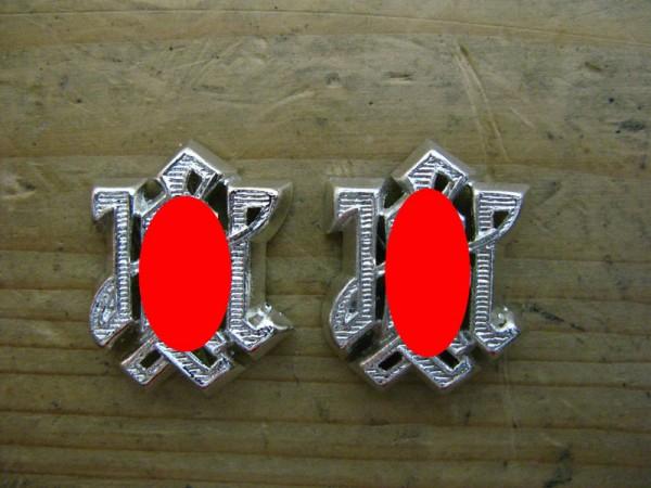 """Shoulder piece support """"LAH silver"""" Shoulder flap support"""