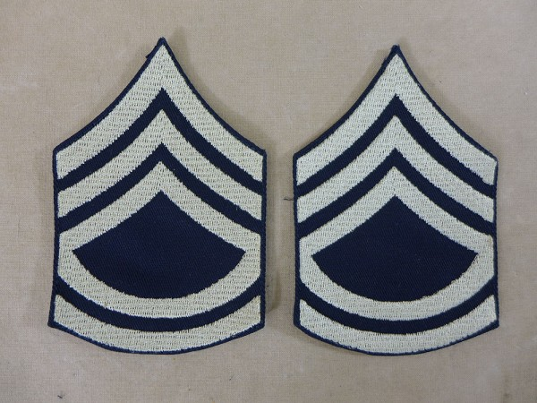 US ARMY WW2 Ranks Rank Badge T/Sgt Technical Sergeant Uniform Rank Badge