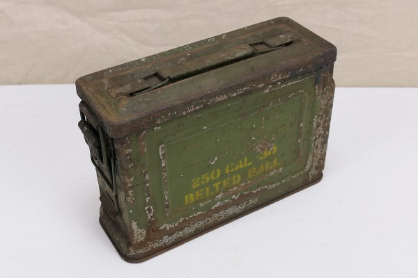US ARMY WW2 Ammunition Box Cal .30 M2 250 rounds
