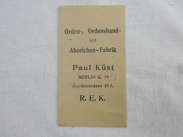 Award bag Paul Küst