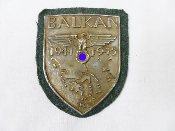 Wehrmacht sleeve shield Balkan 1944 1945 Balkan shield field blouse F.A.D.