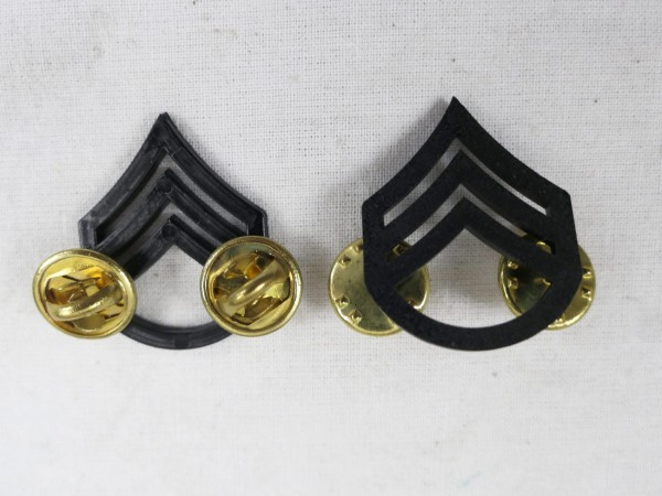 US ARMY WW2 Ranks Badge S/Sgt Staff Sergeant Uniform Rank Badge