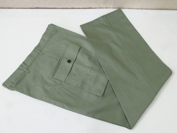 US WW2 HBT Vintage Trousers herringbone trousers field trousers Herringbone Twill 1942 pattern