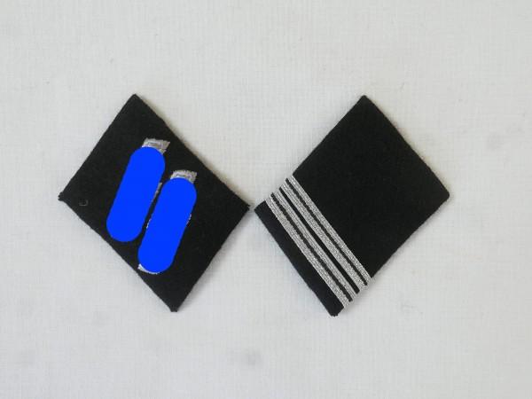 Waffen Elite collar mirror / Rottenführer Obergefreiter , pair