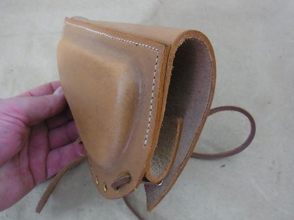 US Army Cheek Pad M1 Garand Rifle / cheek guard rifle butt leather