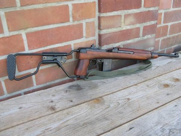 US Army M1 Carbine Folding Stock Deco Model Movie Weapon