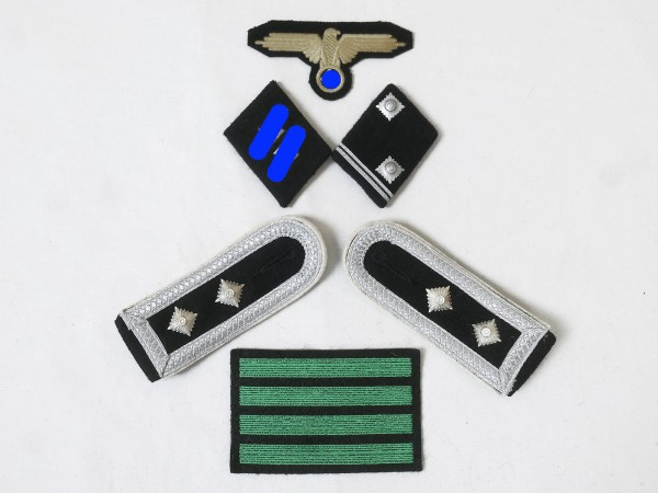 Set of Effects Badges Weapons Elite Shoulderboards Sleeve eagle Collar mirror for main share leader