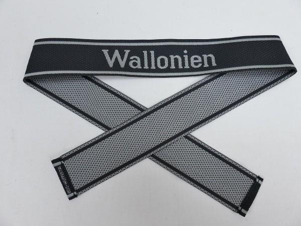 Wehrmacht Elite BEVO Sleeve Band Volunteer Legion WALLONIEN Sleeve Stripes