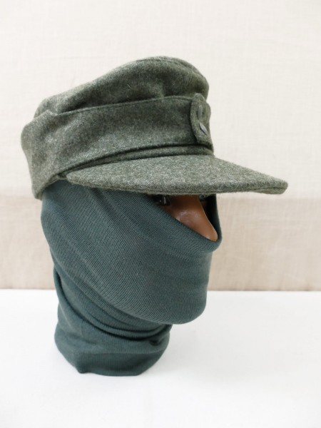 Wehrmacht tubular scarf green olive granny scarf winter additional clothing field cap