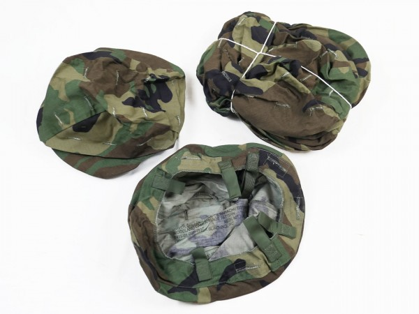 PASGT Helmet Cover Woodland Camouflage Pattern Helmet Cover Fritz
