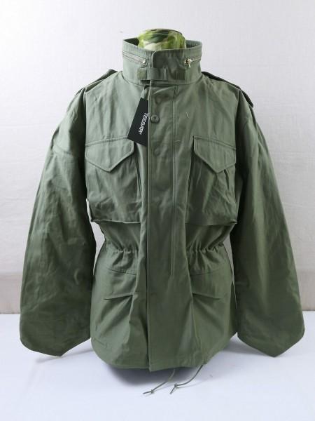 US M65 VIETNAM Field Jacket TEESAR® Field Jacket M65 olive Schimanski Jacket