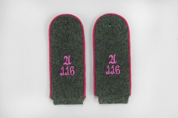 Shoulder boards M40 116th Panzer Division Recon