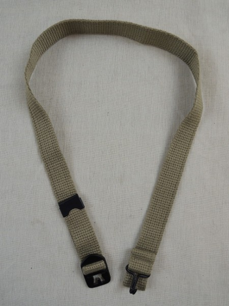 US ARMY WW2 chin strap canvas chin strap brass M1 steel helmet