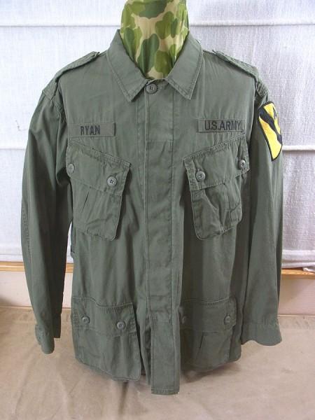 US Army Field Jacket Jungle Jacket M64 Vietnam olive