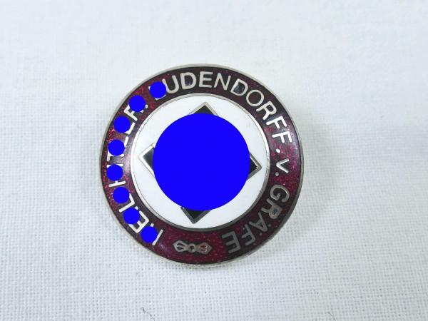 "Early NSDAP sympathy RZM badge on pin "" Germany Awakening """