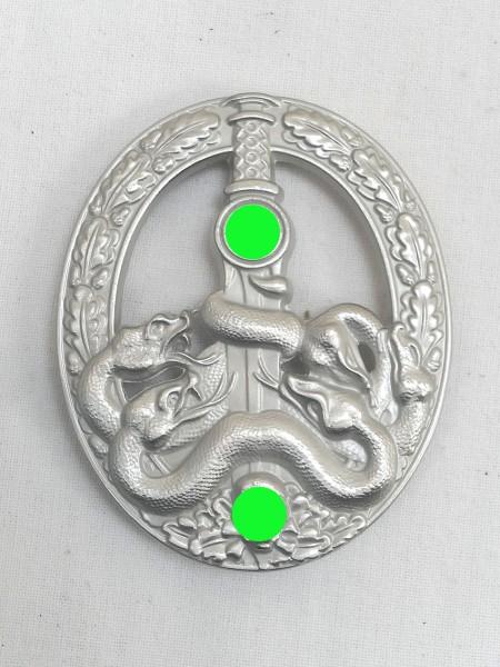 Wehrmacht Bandenkampfabzeichen level silver