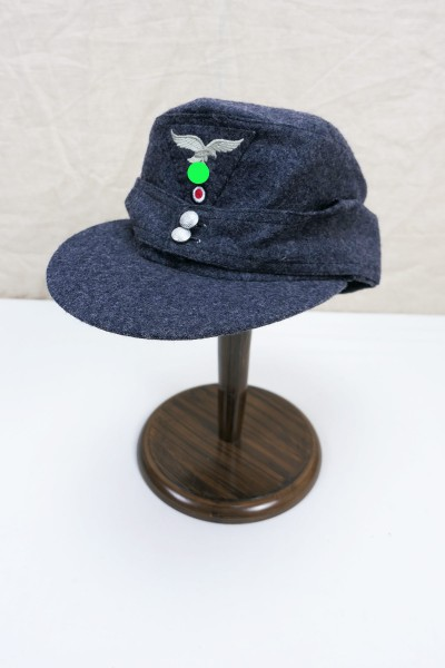 Luftwaffe M43 field cap size 59 M1943 with trapezoid eagle