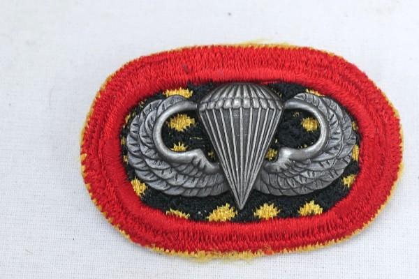 #11 US Airborne Jump Wing oval - Parachute badge Paratrooper Badge Jump Badge