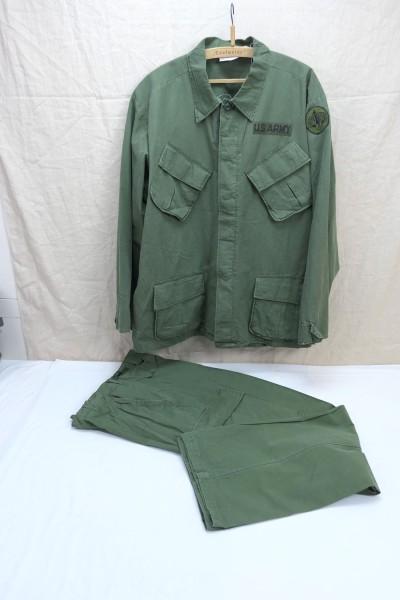 US Army Field Jacket + Field Trousers Jungle Pants M64 Vietnam olive size XL