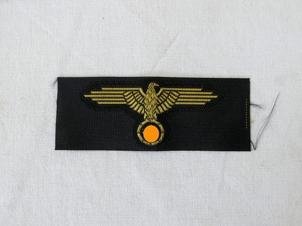 WSS cap eagle elite woven gold thread for camouflage caps