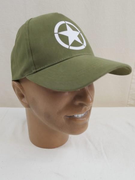 US Army Star GI Star Baseball Cap Cap US Army WW2 new