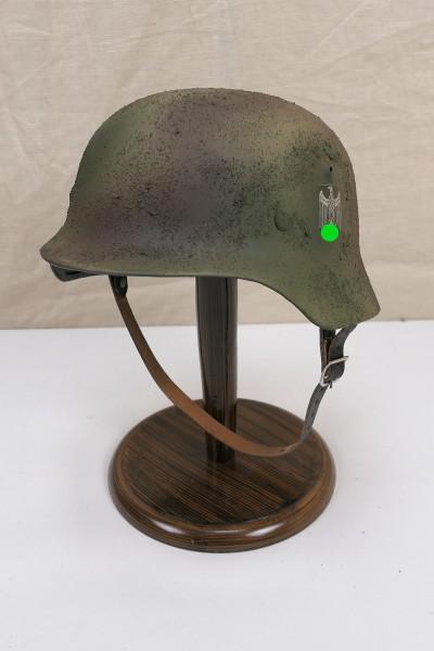 Wehrmacht camouflage tropics south front steel helmet M35 M40 DD Rauhtarn camouflage helmet size 57/58 #28