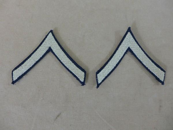 US ARMY WW2 Ranks Badge Private 1st class Uniform Rank Badge
