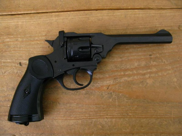 Webley MK4 Revolver Deco Model Movie Weapon