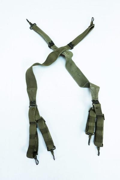 Original US Army WW2 Suspenders Carrying Strap Belt M1936